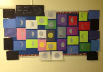 Lunar Cycle Bulletin Board